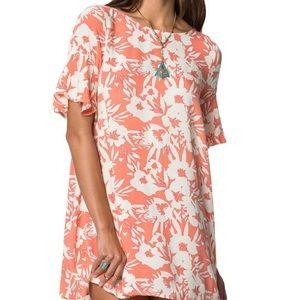 O'Neill ruffled floral print Isabella swing dress